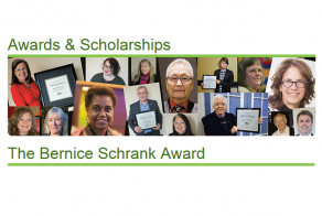 Call for Nominations for Bernice Schrank Award